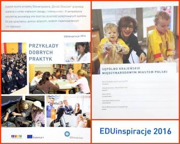"""W tegorocznej edycji nagrody EDUinspiracje przyznawanej przez Fundację Rozwoju Systemu Edukacji, Stowarzyszenie """"Dorośli – Dzieciom"""" znalazło się w pierwszej piątce najciekawszych i najlepiej realizowanych projektów Wolontariatu Europejskiego w Polsce!"""