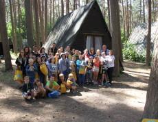 Dzień po zakończeniu roku szkolnego wychowankowie Świetlicy Terapeutycznej  z Sępólna Krajeńskiego jak co roku wyruszyli na obóz terapeutyczny do Harcerskiego  Centrum Edukacji Ekologicznej w Funce.