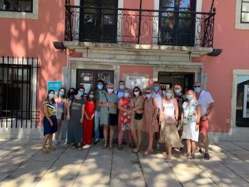 """Przedstawiciele Stowarzyszenia """"Dorośli-Dzieciom"""" i partnera projektu standardowego odbyli w dniach 28 lipca -2 sierpnia br. wizytę studyjną w Portugalii."""